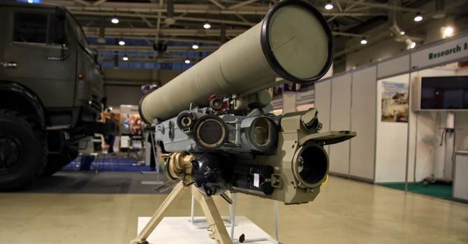 Quân đội Nga được trang bị tổ hợp tên lửa chống tăng Metis-M1