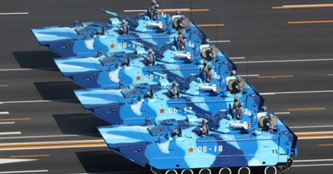 Mỹ: Trung Quốc tăng cường lực lượng đổ bộ đe dọa Đài Loan