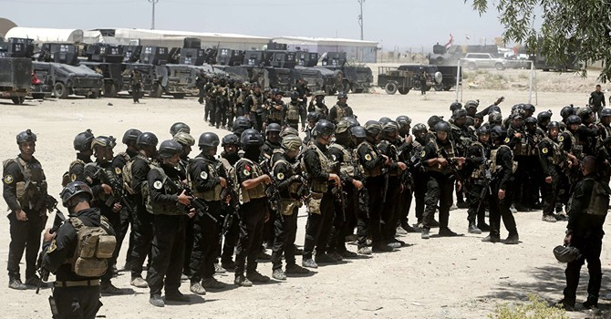 Quân đội Iraq siết chặt vòng vây IS ở 3 hướng quanh thành phố Fallujah