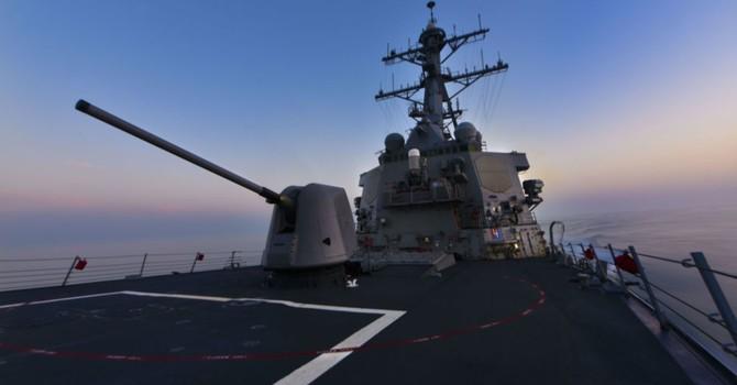 Hôm nay, Mỹ điều khu trục hạm Porter tiến vào Biển Đen