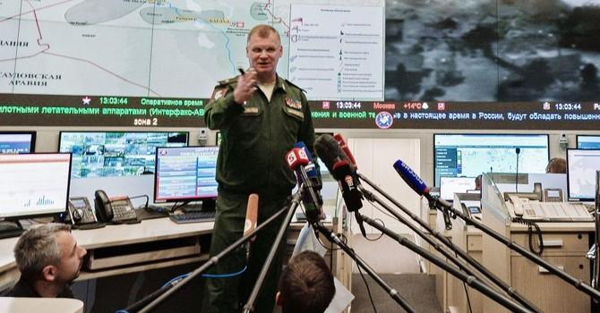 Bộ Quốc phòng Nga bác cáo cuộc của Mỹ về vụ không kích ở Syria