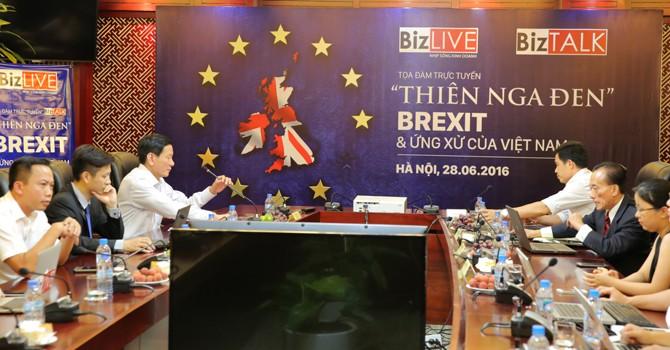 """BizTALK: Việt Nam nên ứng xử thế nào với """"Thiên nga đen"""" Brexit?"""