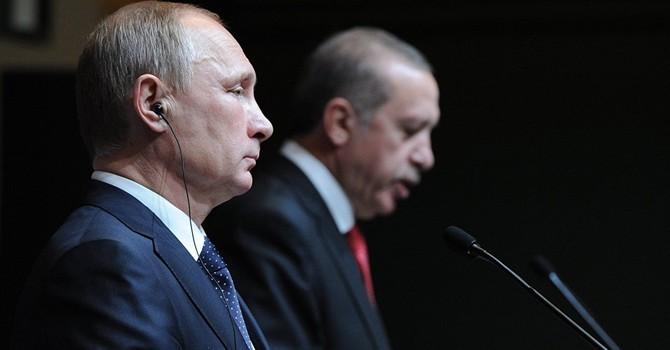Điện đàm 40 phút, ông Putin và Erdogan thỏa thuận gặp mặt trực tiếp