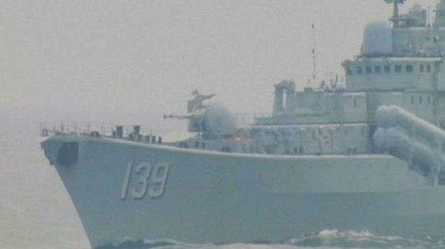 Truyền thông Trung Quốc công bố hình ảnh tập trận ở Biển Đông