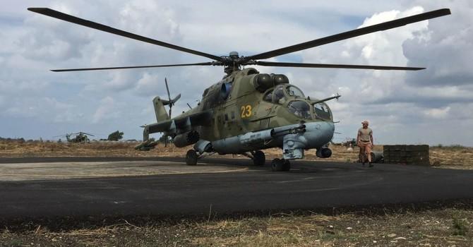 Chiến binh IS bắn hạ máy bay Mi-25 của Nga tại Syria