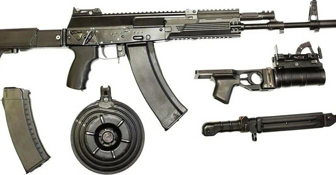 Nga tiếp tục thử nghiệm súng tự động AK-12