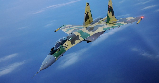 Su-35 - chiến đâu cơ Nga đạt tốc độ tới 2.500 km/h