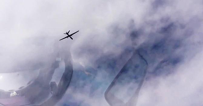Truyền thông Israel tiết lộ về máy bay không người lái Nga bay từ phía Syria