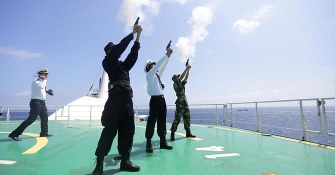 Bí ẩn địa điểm tập trận Nga-Trung Quốc ở Biển Đông