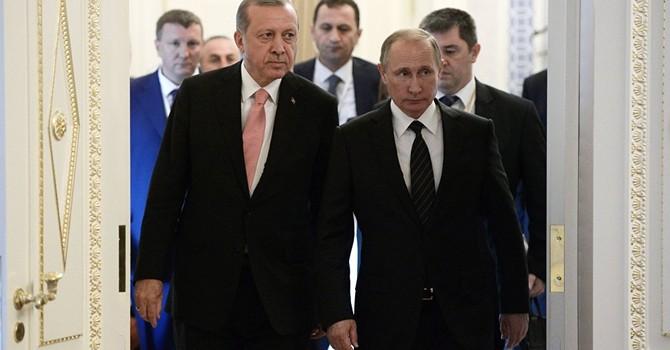 """Gặp ông Putin, ông Erdogan tuyên bố nối lại siêu dự án """"Dòng chảy Thổ Nhĩ Kỳ"""""""