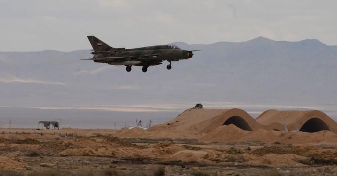 Chiến đấu cơ Mỹ khoanh vùng cấm với máy bay của chính phủ Syria