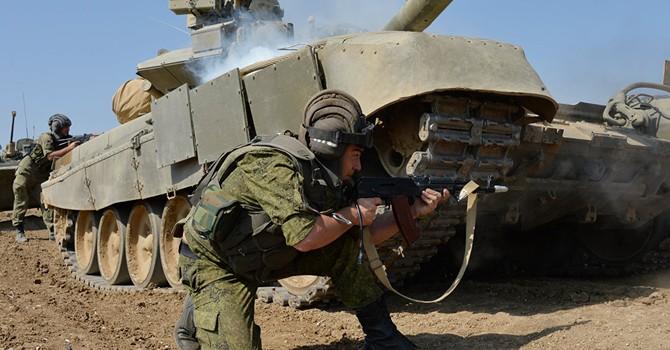 Nga điều các lữ đoàn dù và thủy quân lục chiến đến thao trường Crimea