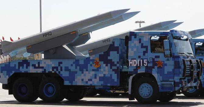 Trung Quốc cải tiến hệ thống tên lửa đất đối không