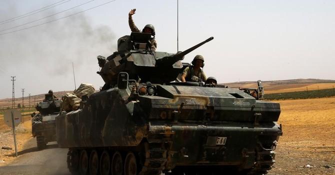 Lực lượng được Mỹ - Nga hậu thuẫn đứng trước vận mệnh trên đe dưới búa ở Syria
