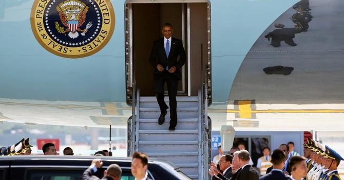 """""""Sự cố"""" ngoại giao ở Hàng Châu: Bắc Kinh cố tình bạc đãi ông Obama?"""