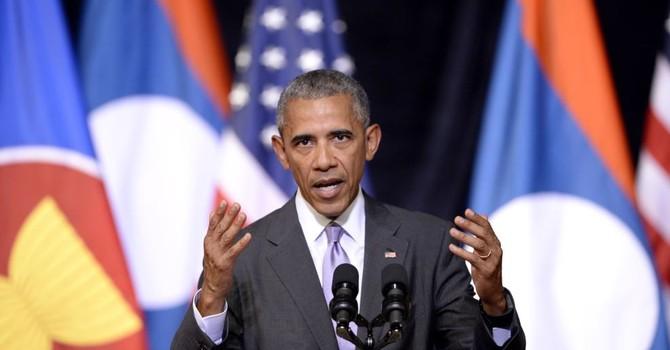 Đến Lào, ông Obama trấn an chiến lược tái cân bằng về Châu Á