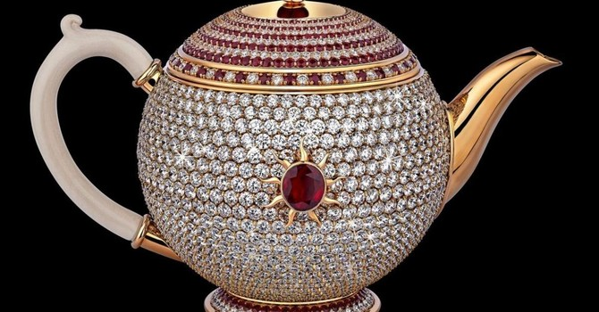Ấm trà đắt nhất thế giới có giá 3 triệu USD