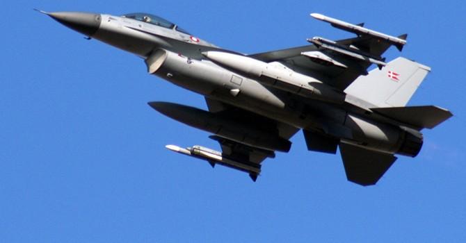 Đan Mạch điều chiến đấu cơ dội bom vào lực lượng Syria