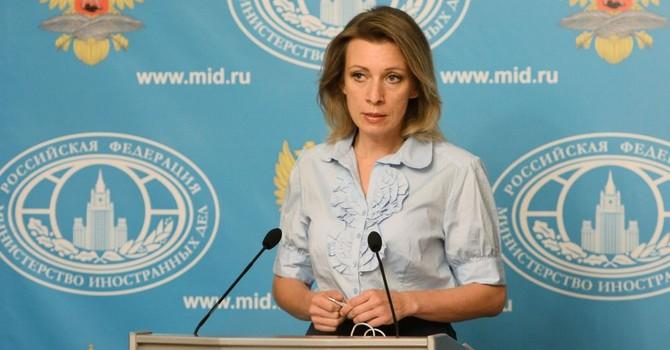 Bà Zakharova đáp trả cáo buộc của Anh về vai trò của Nga ở Syria