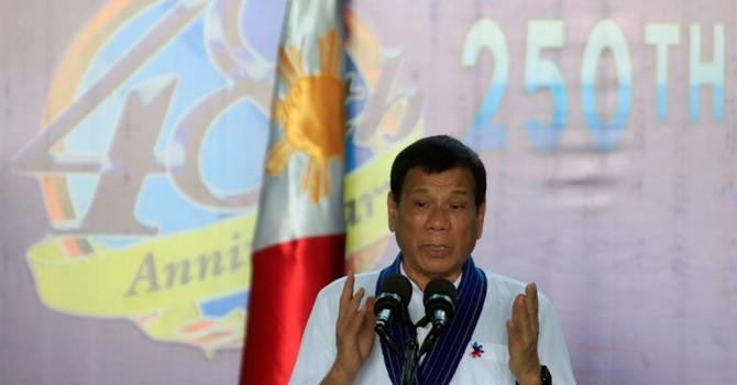 Tổng thống Philippines muốn xích gần Nga và Trung Quốc