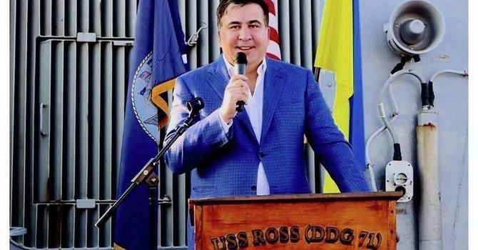 Về Gruzia sẽ bị bắt ngay, nhưng ông Saakashvili vẫn tuyên bố sắp trở lại