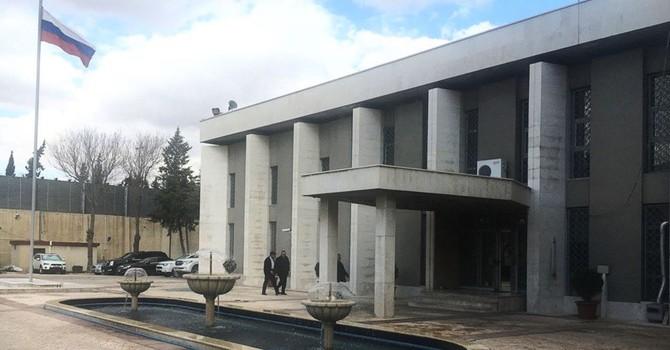 Đại sứ quán Nga tại Syria bị nã súng cối