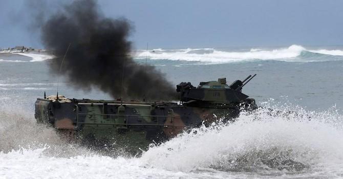 Philippines và Mỹ tập trận tái chiếm đảo trên Biển Đông