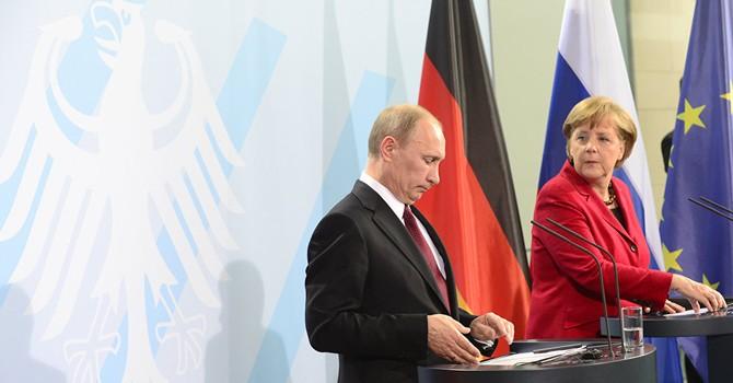Đức nêu điều kiện cuộc gặp riêng giữa bà Merkel và ông Putin