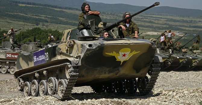 Lính dù Nga lên đường tập trận ở Ai Cập