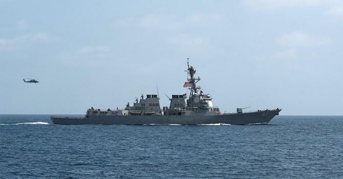Tàu khu trục Mỹ lại bị tấn công từ lãnh thổ Yemen