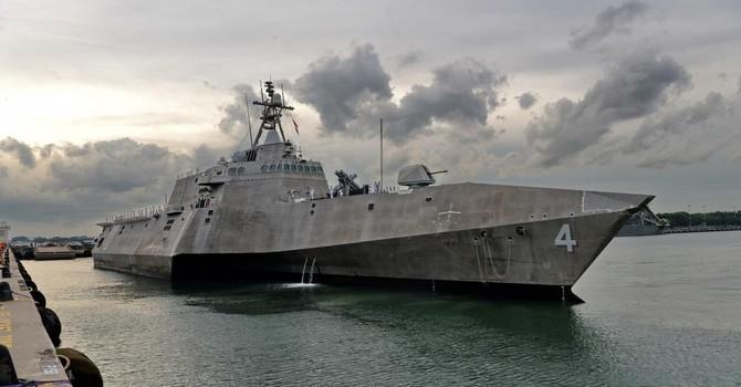 Mỹ điều tàu tác chiến cận bờ đến Đông Nam Á, sẵn sàng chiến đấu