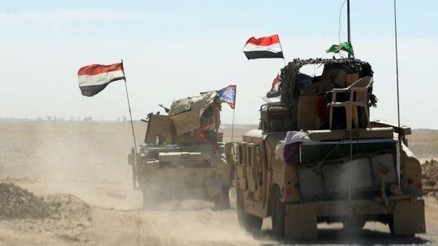 Trận chiến Mosul: Khoảng 34.000 lính Iraq và người Kurd vây hãm quân IS