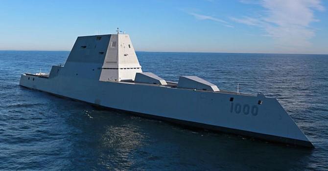 Tàu khu trục Zumwalt đắt nhất thế giới, bảo bối tối tân nhất của Hải quân Mỹ