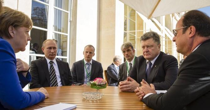 Ông Putin tới Đức họp thượng đỉnh 4 bên về khủng hoảng Ukraine