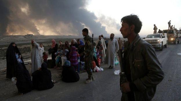 """Mỹ tố IS dùng dân thường làm """"lá chắn sống"""" ở Mosul"""