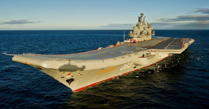 Nga điều bao nhiêu tàu chiến đến chiến trường Syria?