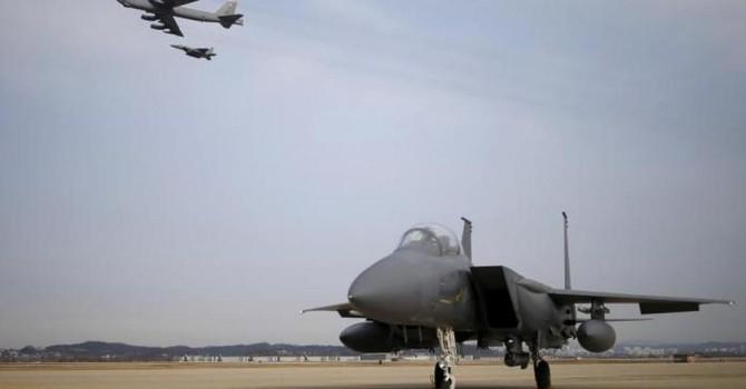 """Mỹ sẵn sàng bố trí B-52 và B-1 ở Hàn Quốc để """"răn đe mở rộng"""" Triều Tiên"""