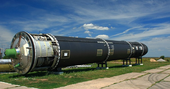 """Nga lần đầu công bố hình ảnh của tên lửa hạt nhân """"mạnh nhất thế giới"""""""