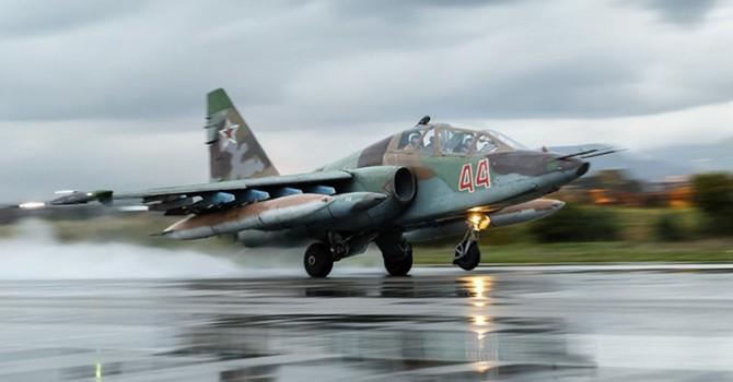 Máy bay Nga áp sát chiến đấu cơ của liên minh Mỹ ở Syria