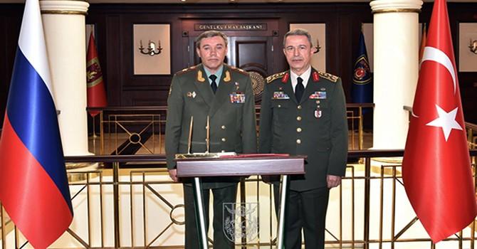 Tổng tham mưu trưởng quân đội Thổ Nhĩ Kỳ đến Nga bàn về chiến sự Aleppo - Syria
