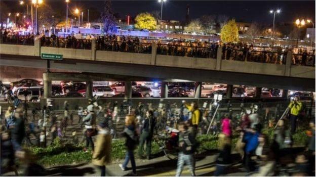 Biểu tình phản đối ông Trump trở thành bạo lực ở Portland, Mỹ
