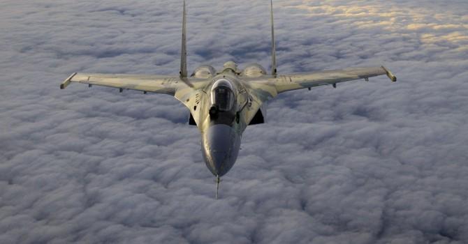 Máy bay chiến đấu của Tây Ban Nha và Bồ Đào Nha bám đuổi tiêm kích Su-35 của Nga