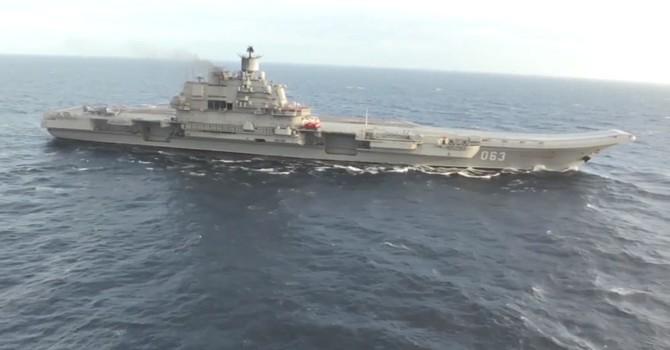 Năm 2017, hạm đội biển Bắc Nga mở rộng sự hiện diện tàu chiến quanh thế giới