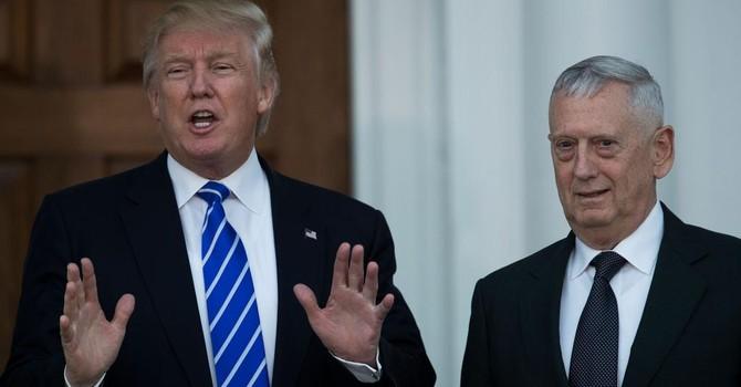 Căng thẳng giữa ông Donald Trump và bộ trưởng quốc phòng chỉ định