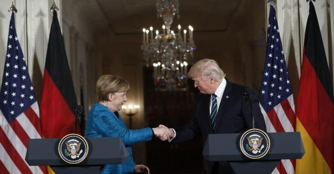 Mỹ, Đức đồng ý củng cố NATO, thảo luận thương mại