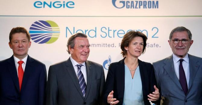 """Đức, Pháp chỉ trích Mỹ mở rộng trừng phạt Nga vì """"lằn ranh đỏ"""""""
