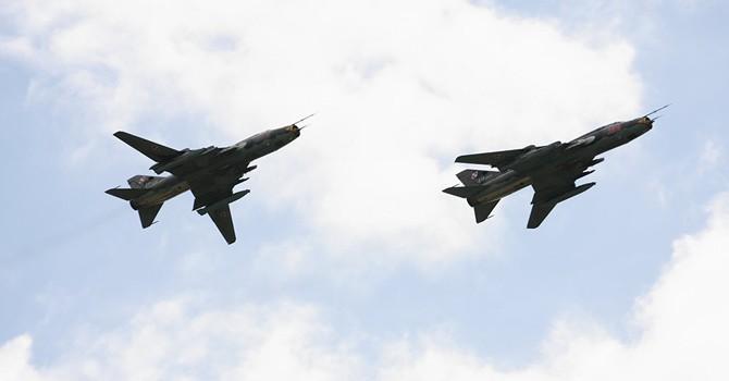 Chiến đấu cơ Mỹ bắn hạ máy bay Su-22 của Quân đội Syria