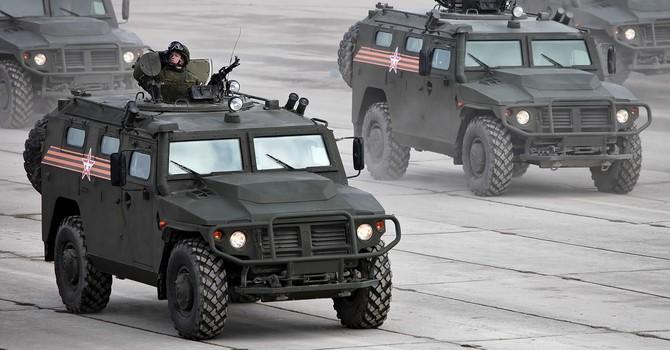 Khám phá sức mạnh xe bọc thép đa năng Tiger-M của Nga