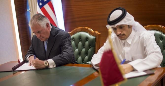 Mỹ và Qatar ký hiệp ước triệt hạ tài trợ khủng bố