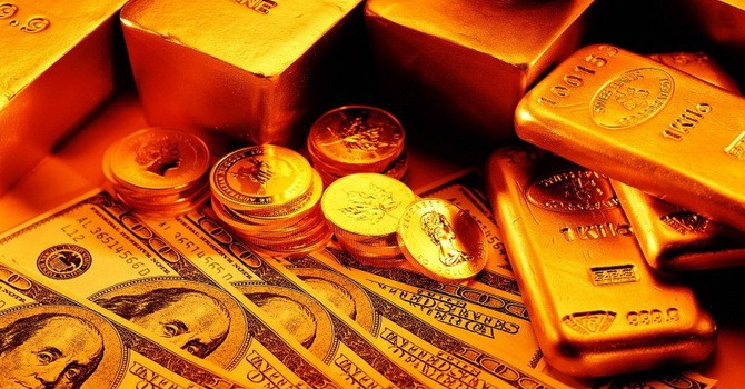 Giá vàng tăng vọt trong tuần